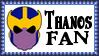 Marvel Comics Thanos Fan Stamp by dA--bogeyman