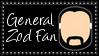DC Comics General Zod Fan Stamp by dA--bogeyman