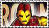 Marvel Cover Art Iron Man Stamp by dA--bogeyman