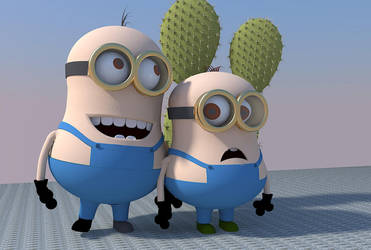 Despicable Cactus by plasmid1