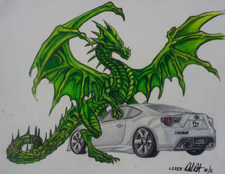 Scion Frs by danieldenta169