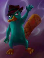 Perry the Platypus by Chicorii
