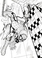 Spidey Thwips out by DrStrangebob