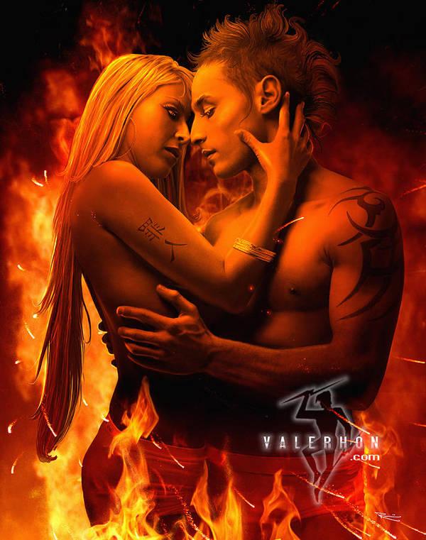 Souls on Fire by Valerhon