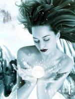 Snow Goddess Detail by Valerhon