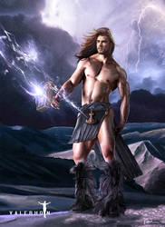 Thor by Valerhon