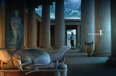 Argos Waits for Odysseus by Valerhon