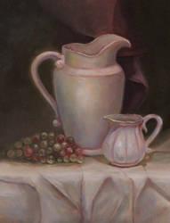 White Still Life by Valerhon