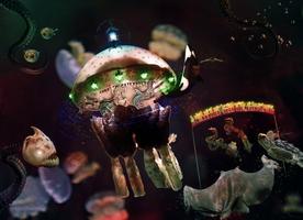 Sea carousel - The infernal loop of resumption by Blossom-Lullabies