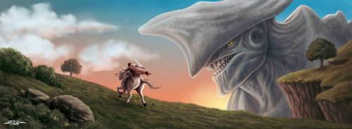 Fantasy kaiju by FF2D