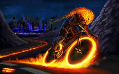 Ghost Biker by FF2D