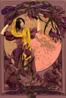 My secret garden - Iris by umina67