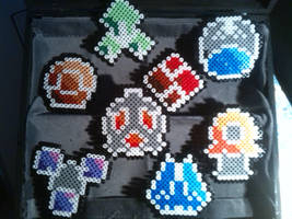 Pokemon badges - Sinnoh 2 by bGilliand