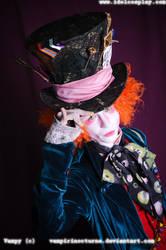 mad hatter hello by ArtH-DePp