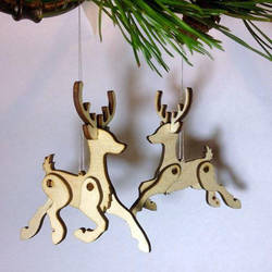 Little Hanging Reindeer by Ribena-Warrior
