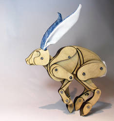 Running Hare by Ribena-Warrior
