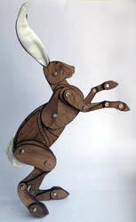 Walnut the Hare by Ribena-Warrior