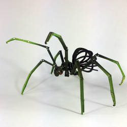 Articulated Spider by Ribena-Warrior