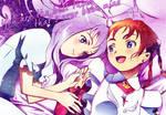 Mashiro And Arika banner by Shy-Bookworm