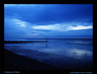 I dream of blue... by annun