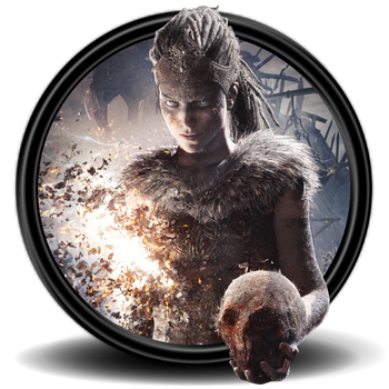 Hellblade: Senua's Sacrifice Icon (8) by Malfacio