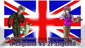 Hetalia Fights: 1P vs 2PEngland by Sagealina