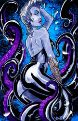 Ursula The Little Mermaid by thecrow1299