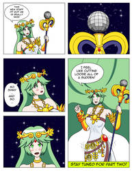 Palutena's New Groove Page 1 by MegatronMan
