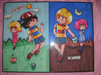 Earthbound:MOTHER3 Poster :D by yanano