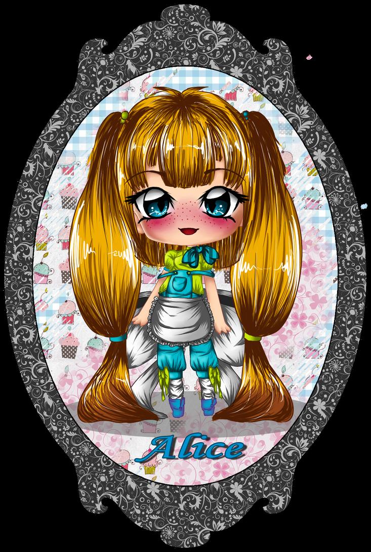 Derpy Design-Alice by StrawberryCakeBunny