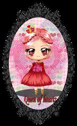 Derpy Design- Queen of Hearts by StrawberryCakeBunny