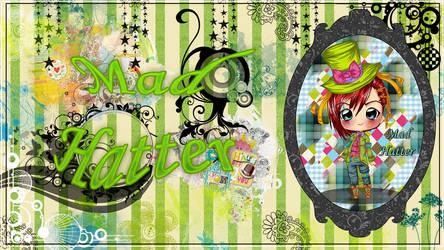 Mad Hatter wallpaper by StrawberryCakeBunny