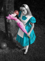 Alice's Croquet Madness by spectropluto