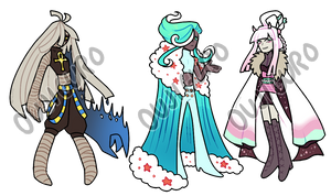 [CLOSED] themed adopt challenge 7 - set 17 by oujiguro