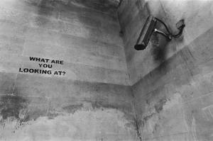 Banksy In Full Swing by emrerende