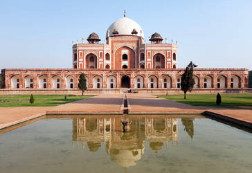 Humayun's Tomb by emrerende