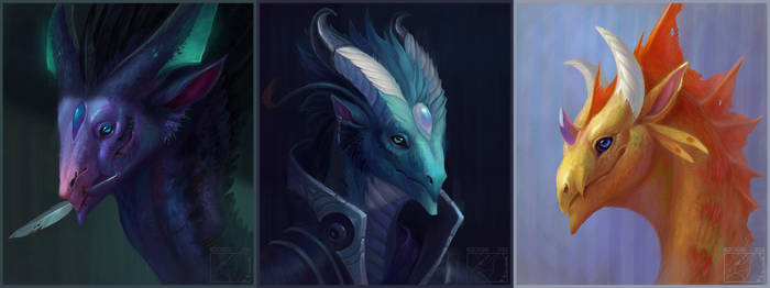 Portrait remakes 2018 by Neboveria