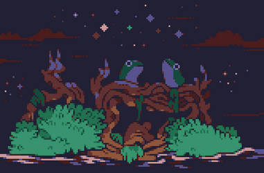 frogs by OCEANSCENTED