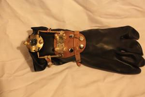Steampunk Uhr by DragonysArt