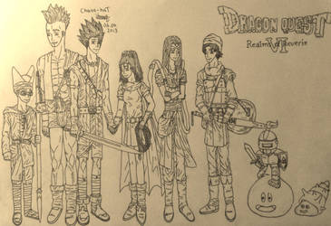Dragon Quest 6 by Chaos-haT