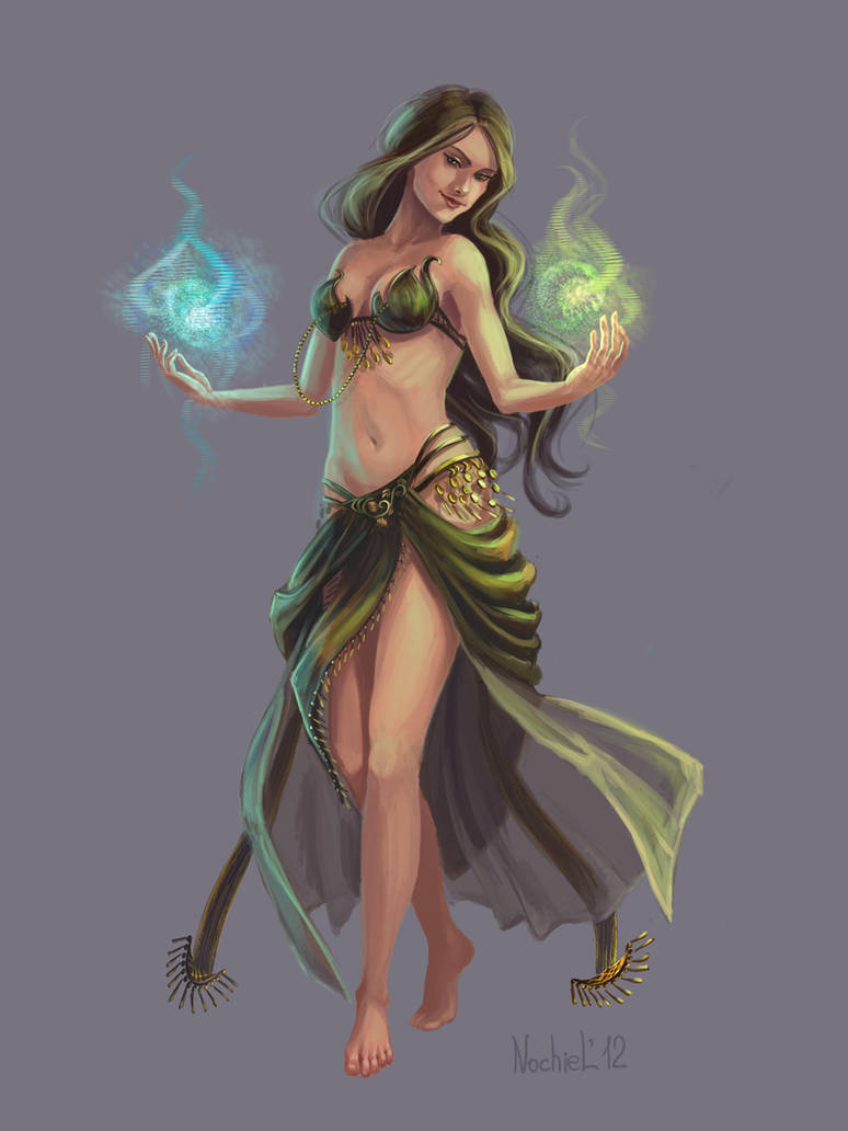 Bellydance and magic by Nochiel