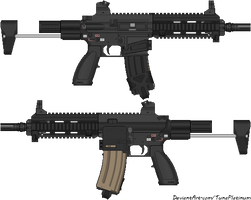Counter-Strike Online 2: HK HK416C PDW by TunaPlatinum