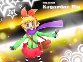 Kagamine Rin by SteelDialga