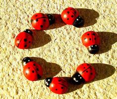 Ladybugs by AlliNeedIsLove