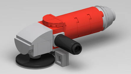 Angle Grinder in LEGO! by ryanthescooterguy
