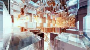 Glass World: Burning Sun by C-JR