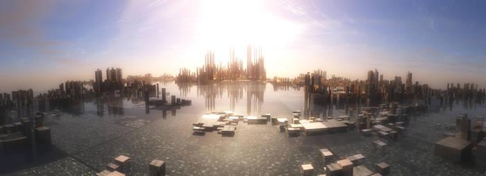 Fractal City by C-JR