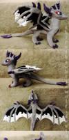 Dragon OC plush by ShiroTheWhiteWolf