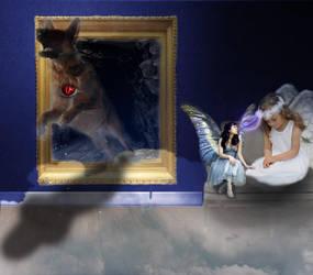 never trust fairies by Sunnada