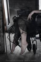 Wheelchair by BlackRoomPhoto